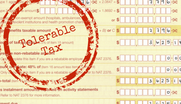 Tolerable Tax - A pinch of FBT to get you