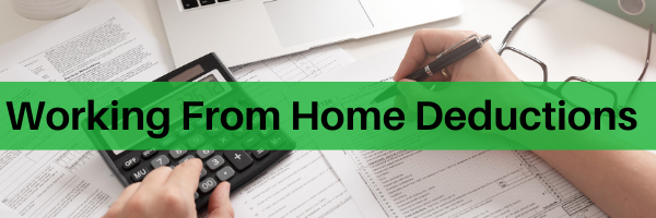 Working From Home Deductions
